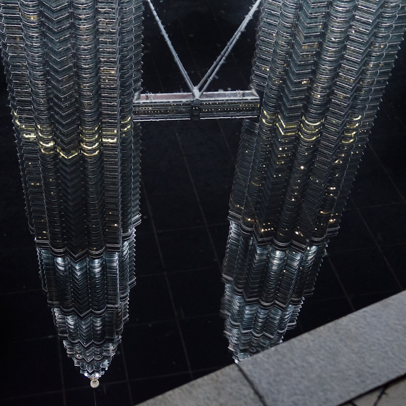 Petronas Twin Towers - Spiegelungen