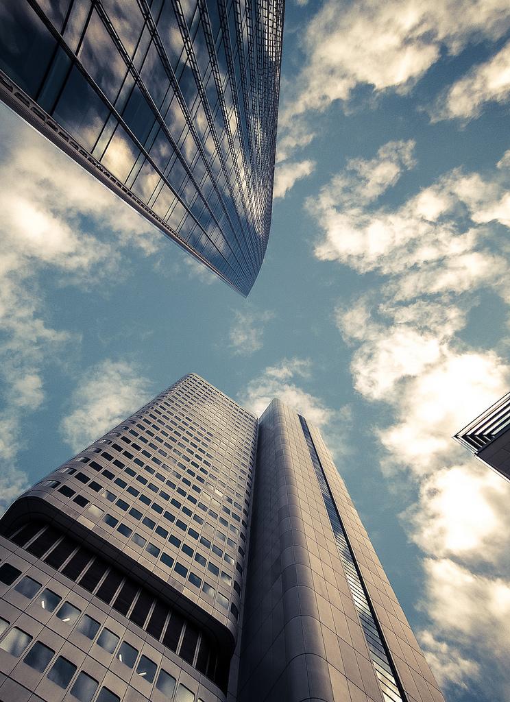 Into the sky I