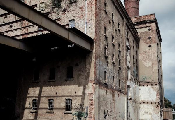 Alte Malzfabrik Dresden - Innenhof