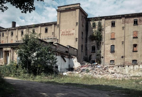 Alte Malzfabrik Dresden - Kämpfe mit uns für den Frieden