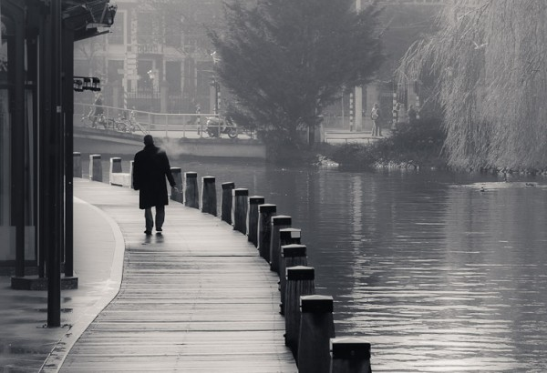 Amsterdam, Niederlande - Kanal