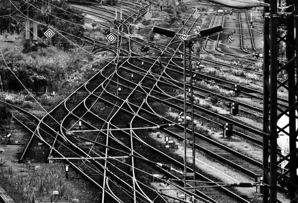 Verwirrende Ordnung - Güterbahnhof Dresden Friedrichstadt