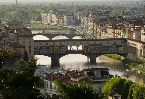 Florenz, Italien - Blick von der Piazza Michelangelo