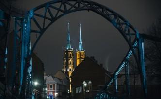 Bilder von der Dominsel, Wroclaw