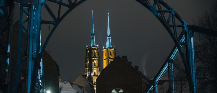Bilder von der Dominsel, Wroclaw